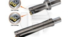 TOPDRILL Cartridge Type TOPDRILL for Large Diameter Hole Machining