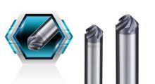 SOLID END MILL_APEXMILL 45° Chamfering Solid End Mill with 5 Flute High Helix Angle