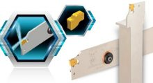 SFEEDCLAMP_CUT-SFEED 절단 및 깊은 홈 가공에 최적화된 한날 인서트와 홀더